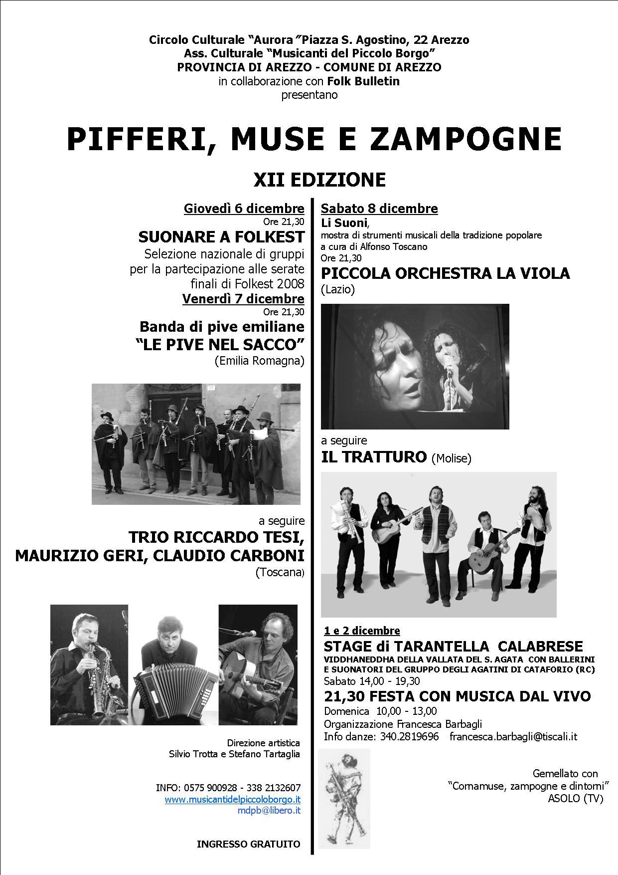 Valentina Micchetti E Francesco Arca Pifferimz Xii Edizione